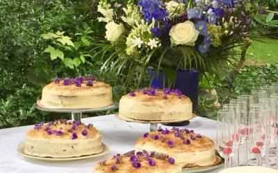 Carrot cakes op evenement